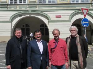 ing. B. Nabulsi, ing. K. Khasman, ing. P. Justa, mgr. M. Houska